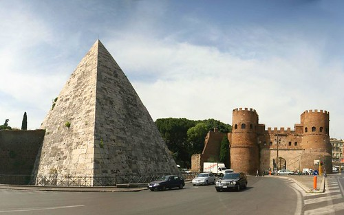 Piramide of Gaius Cestius