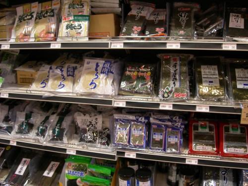 supermarché 5 algues
