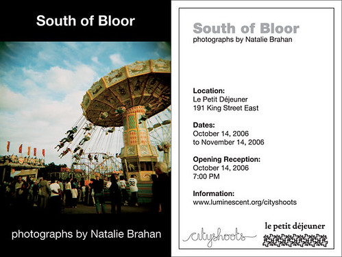 South of Bloor flyer