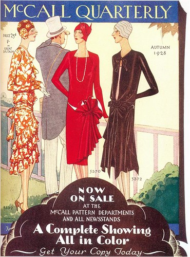Irving Nurick, McCall Patterns ad, 1928