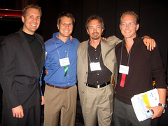 Reno-Tahoe Entrepreneurs Darik Volpa, Fritz Battcher, David LaPlante, Robb Smith