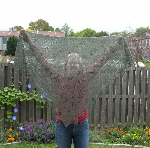 Pacific Northwest Shawl 1