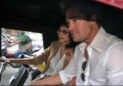brad pitt angelina jolie pune rickshaw maddox