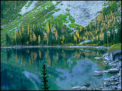 Colchuck Lake Larches 10.12.06.
