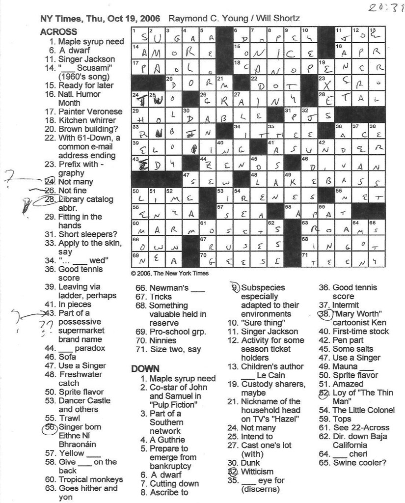 Rex Parker Does The Nyt Crossword Puzzle Replacement Rex