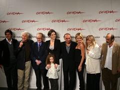 il cast alla festa internazionale del cinema di Roma