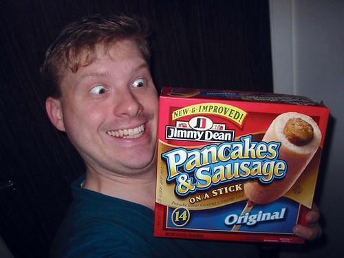 Jimmy Dean's Pancake On A Stick