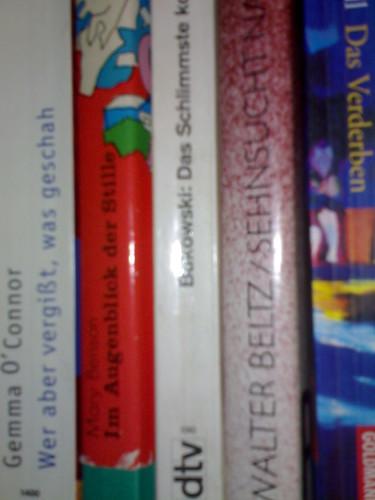 Bücher aus dem Hausflur