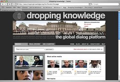 Neues Design der dropping knowledge-Seite