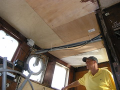 Wheelhouse ceiling