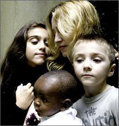 Madonna and children