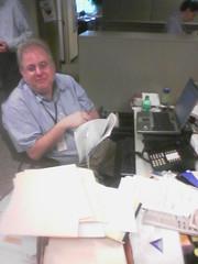 Randy de-clutters