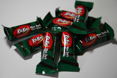 Mint Dark Chocolate KitKat Minis