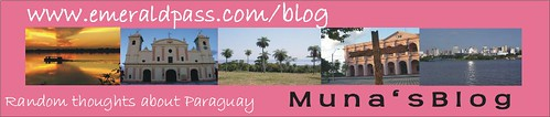 muna's blog about Paraguay