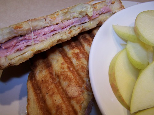Gruyere Apple Panini