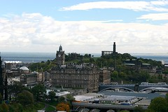 Edinburgh Panorama: Holyrood