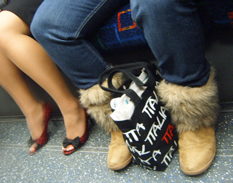 Furry Yeti Uggs & Sandals