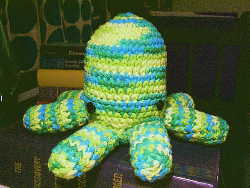 Crocheted cephalopod!