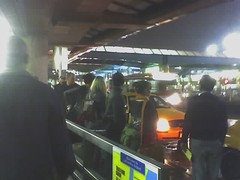 line for taxis