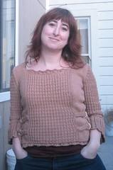 Corset pullover