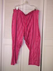 Candy Cane Pajama Pants - LB 26/28 - $4