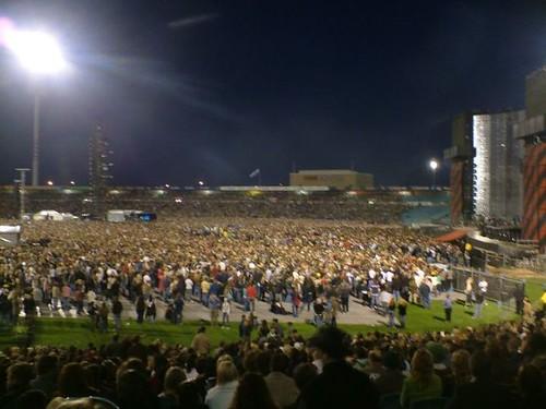 U2 crowd