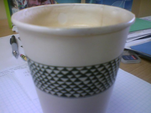 blurry latte