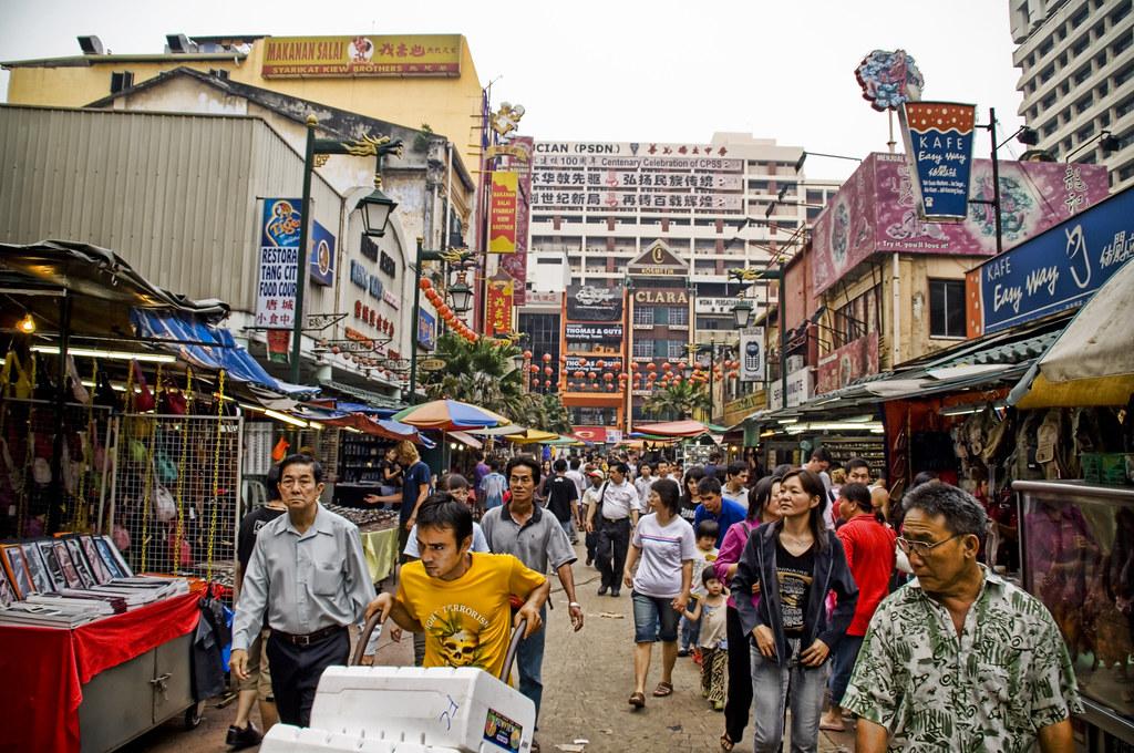 The Streets of Kuala Lumpur