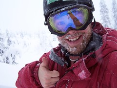 Andre Charland Enjoying a Day on Whistler
