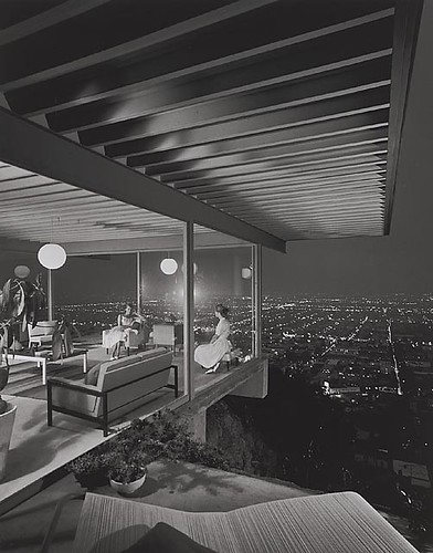 Architecture Photography Los Angeles rebuilding place in the urban space: modernist architectural