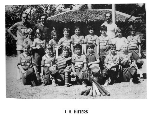 International Harvester Hitters T-Ball Team 1978-1979