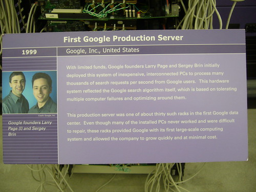 Google First Production Server