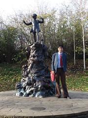 Peter Pan statue, Kensington