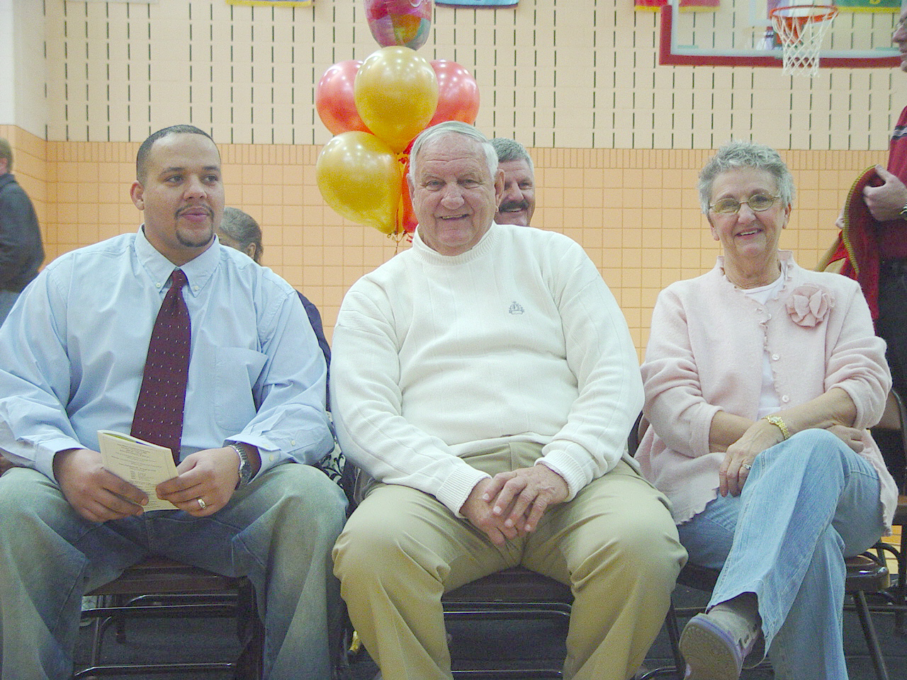 Gary Wilson Gymnasium Dedication