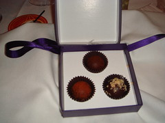 Chocolat Truffles from Vosges