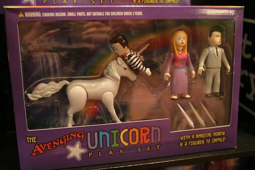 Avenging Unicorn Playset