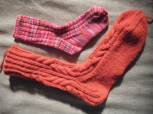 big sock-little sock