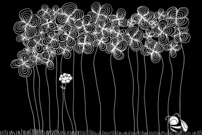 世上千萬朵花,無一可比你