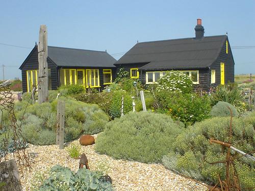 Prospect Cottage - rear view (by diamond geezer)