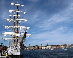 A big Tall Ship from Mexico in Stockholm photo by DenesG1-still off, computerproblems