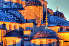Blue Mosque, detail photo by Timothy Neesam (GumshoePhotos)