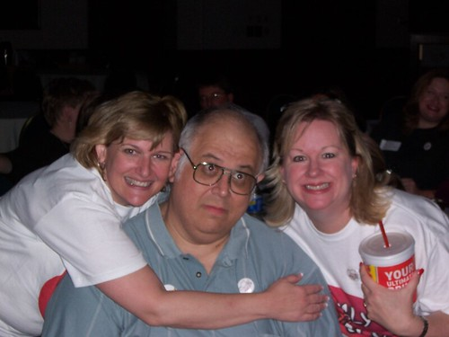 Charles G. Hill and Dr. Jan and Betsy of the Ugly Girls Club
