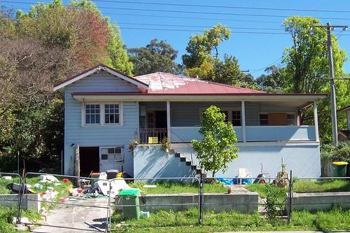 Derelict house Gosford