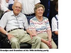 grandma and grandpa Carlson