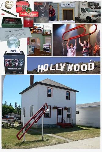 Fotomontaje con los distintos objetos por los que Kile MacDonald fue intercambiando su clip hasta conseguir la casa