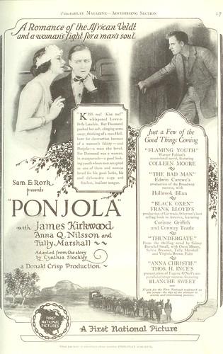 Vintage Ad #70 - Ponjola
