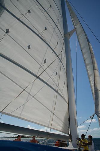catamaran Los Roques