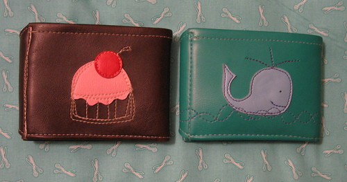 my two Queen Bee wallets