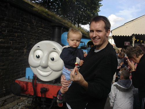 Oliver, Daddy and Thomas