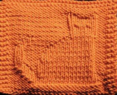 October Mystery Dishcloth KAL - completed